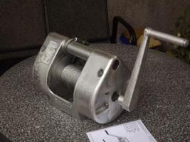 Foto 6 Seilwinde von Pfaff in Vollaluminium mit Bremse, PKW, LKW, Autotransport, Boot, Trailer