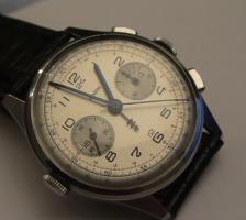 Foto 2 Selten Vintage Zenith Sextant Uhr Watch