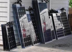 Semi Flexibel Solarpanel Solarmodul 10wp bis 120wp Mono oder Poly www.solarandwind.ch Grosse Auswahl!