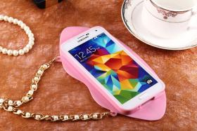 Foto 4 Sexy Lippe Silikon Weiches Design Schutzhülle für Samsung Galaxy S4 i9500 und S5 i9600