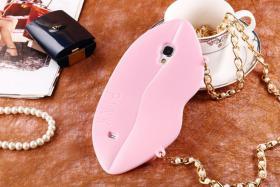 Foto 7 Sexy Lippe Silikon Weiches Design Schutzhülle für Samsung Galaxy S4 i9500 und S5 i9600
