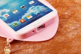 Foto 8 Sexy Lippe Silikon Weiches Design Schutzhülle für Samsung Galaxy S4 i9500 und S5 i9600