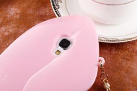 Foto 10 Sexy Lippe Silikon Weiches Design Schutzhülle für Samsung Galaxy S4 i9500 und S5 i9600