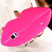 Foto 18 Sexy Lippe Silikon Weiches Design Schutzhülle für Samsung Galaxy S4 i9500 und S5 i9600