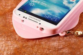 Foto 20 Sexy Lippe Silikon Weiches Design Schutzhülle für Samsung Galaxy S4 i9500 und S5 i9600