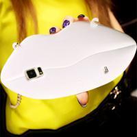 Foto 21 Sexy Lippe Silikon Weiches Design Schutzhülle für Samsung Galaxy S4 i9500 und S5 i9600