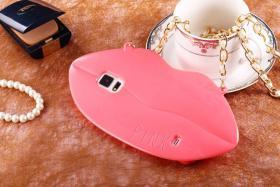 Foto 26 Sexy Lippe Silikon Weiches Design Schutzhülle für Samsung Galaxy S4 i9500 und S5 i9600