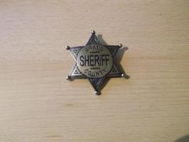 Sheriffstern Grand County -silberfarben-