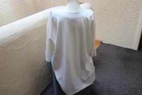 Foto 3 #Shirt m. Perlen, Gr. 50, #offwhite, #Top-Zustand, #Cadeaux