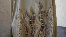 Foto 2 #Shirt m. Schlangenprint, Gr. #46, goldbeige, #MM, #NEU
