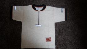 #Shirt, Gr.#104, #hellgrau meliert, #Jacky, #neu