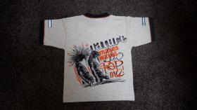 Foto 5 #Shirt, Gr.#104, #hellgrau meliert, #Jacky, #neu