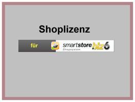 Shoplizenz für SmartStore.biz 6 Ultimate