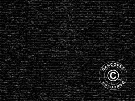 Sichtschutzzaun 2x50m 150g, Schwarz