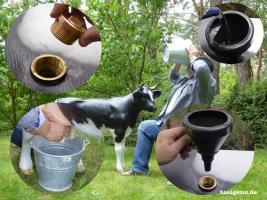 Foto 4 Sie Melk Kuh passt sogar auf Deinen Balkon wo Du dann … richtig meklen kannst was und wen Du es Willst ...