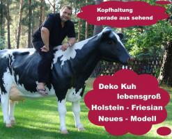 Foto 3 Sie bestellen … Wir liefern … Deko Kuh lebensgross ...