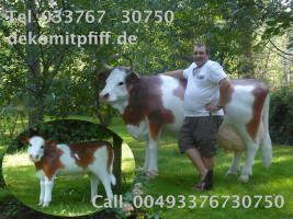 Sie möchten ein Deko Kalb gratis dazu erhalten wenn Sie so ne Deko Kuh - Modell kaufen ...