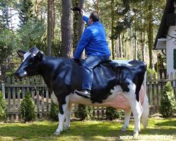 Sie möchten eine Holstein - Friesian Deko kuh und dazu das neue Deko kalb ….????