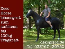 Sie möchten Ihren Mann zu Weihnachten ein Deko Pferd schenken … www.dekopferd.de