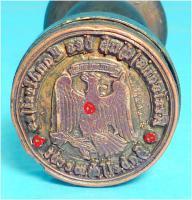 Foto 2 Siegel, Petschaft, Dienstsiegel, Drittes Reich, 3. Reich