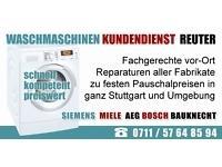 Siemens Waschmaschinenreparatur Badcannstatt|Kundendienst Reuter Anfahrt & Kva 17, -