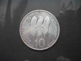 Silber Münze 10Mark
