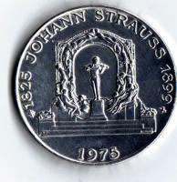 Silbermünze Österreich ''Johann Strauss'' 100 ÖS