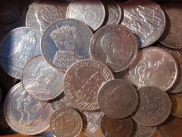 Silbermünzen Sammlung ab 1861
