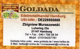 Foto 4 Skup złota Czysta Gotówka ! skup srebra, skup platyny, mówimy po polsku Tel.004940/7965654 | skup złoto dentystyczne, złoto, srebro, platyna, palad, skup zlewek, zlewków złota