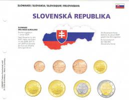 Slowakei Euro Kursmünzensatz !