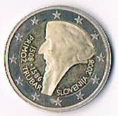 Slowenien 2 Euro Gedenkmünze '' 2008 '' Polierte Platte ! !