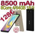 SmartPhone BLUBOO S3 4/64GB 8500mAh 4/64GB 18:9 FHD 128€ frei Haus