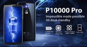 SmartPhone BlackView P10000 PRO 11000mAh Akku-Monster 170€ frei Haus