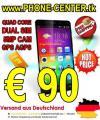 SmartPhone C6 QuadCore 1.3GHz DualSIM nur € 90 versandkostenfrei