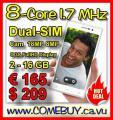 SmartPhone DG900 8-Core 1.7MHz 2/16GB 2 Cams 18MP € 165