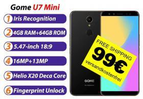 SmartPhoneGOME U7 DecaCore 4/64GB 99€