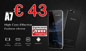 Smartphone Blackview A7 3G 1/8GB Dual-SIM nur 43€ frei Haus