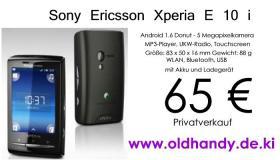 Smartphone Sony Ericcson Xperia E10i