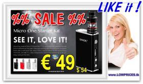 Smok Micro One E-Cig TC 80W TFv4 Micro Full-Kit nur € 49