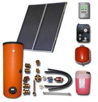 Solaranlage 2-3 Personen mit Brauchwasserspeicher  Bafa förderfahig