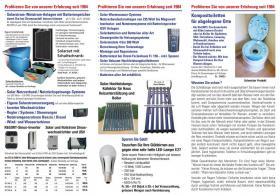 Solarsysteme Batterien  Komponenten und Service und Komposttoletten
