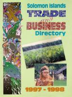 Solomon Islands Trade & Business Directory