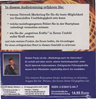 Foto 2 Sonderposten / Vortrags-CD / Robert Pauly / Wie funktioniert Network-Marketing