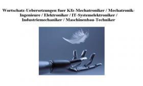 Sonderpreis günstig billig Kraftfahrzeugtechnisches Woerterbuch kfz Mechatronik englisch-deutsch