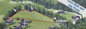 Foto 2 Sonniges Baugrundstück für Tourismuszwecke direkt an der Talstation der Fageralmbergbahnen in Forstau