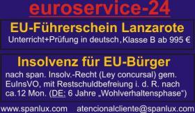 Spanischer EU-Führerschein Klasse B nur 995, - €