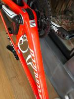 Foto 2 Specialized S Works Tarmac 58 LTD neon red inkl Lightweight Fernweg
