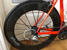 Foto 3 Specialized S Works Tarmac 58 LTD neon red inkl Lightweight Fernweg