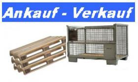 Speditionspaletten u. Gitterboxen - Ankauf / Verkauf