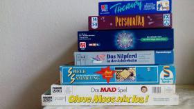 Spiele-Sammlung / Gesellschaftsspiele